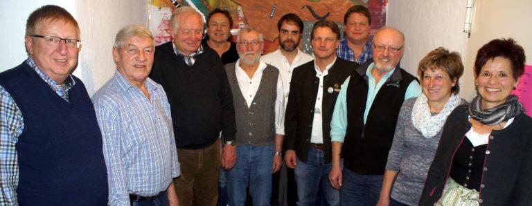 Foto der geehrten Mitglieder